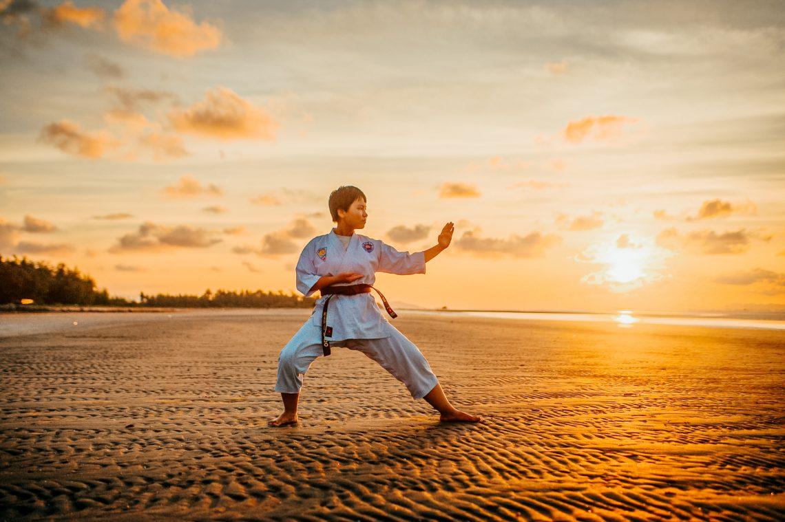 Karatekämpfer